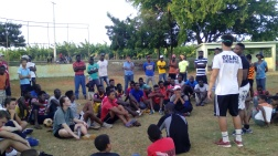 Sports game in La Colonia and evangelismo, day 5